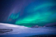 Aurora, Northen Lights, Ice Stock Photography