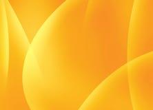Aurora Orange Background. Abstract Orange Aurora Simple Background Royalty Free Stock Images