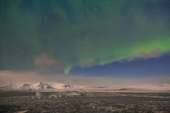 Aurora over Iceland Stock Images