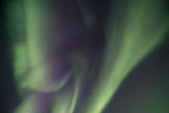 Aurora overhead Stock Photo