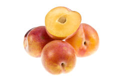Aurora Plums Stock Photo