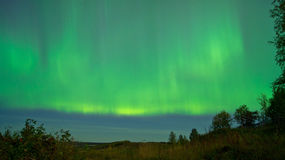 Aurora polare. Fotografia Stock Libera da Diritti