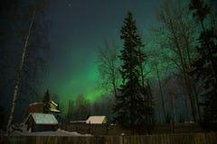 Aurora polare Immagini Stock Libere da Diritti