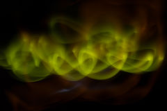 Aurora polaris. Abstract background aurora polaris on black Stock Photography