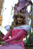 Aurora Princess in Disneyland Parade royalty-vrije stock afbeelding