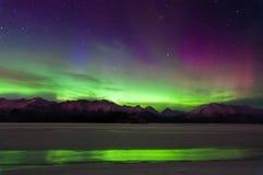 Aurora Reflection Fotografía de archivo