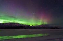 Aurora Reflection Fotos de archivo libres de regalías