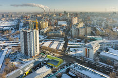 Aurora residential district. Tyumen. Russia Stock Images