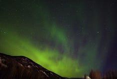 Aurora Sky Foto de archivo libre de regalías
