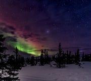 Aurora Sky fotografia stock libera da diritti