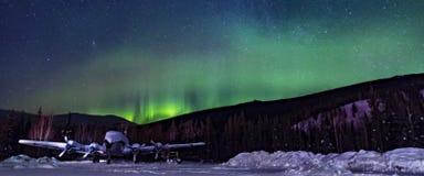 Aurora Sky Imagenes de archivo
