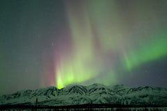 Aurora sopra le montagne Immagine Stock Libera da Diritti