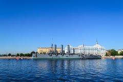 Aurora in St. Petersburg Royalty Free Stock Image