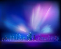 Aurora. Vector illustration Royalty Free Stock Photography