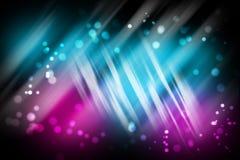 Aurorahintergrund stock abbildung