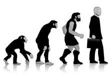 Auroro - evolução do homem Foto de Stock