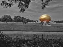 Auroville royalty-vrije stock foto's