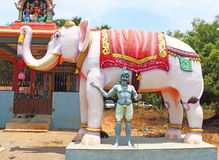 Auroville statue park india Stock Image