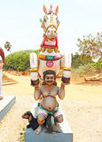 Auroville statue park india Stock Photos