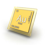 Aurun element sign Royalty Free Stock Photography