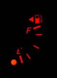 Aus Brennstoff heraus Stockfotografie