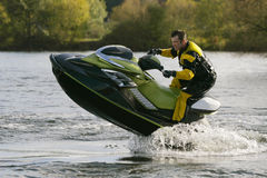 Aus dem Wasser heraus Lizenzfreies Stockfoto