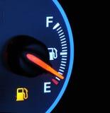 Aus Gas heraus Lizenzfreies Stockfoto
