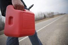 Aus Gas heraus Lizenzfreie Stockbilder