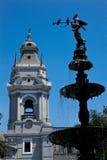 Aus Lima Stadt, Peru stockfoto