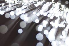 Aus optischen Fasern Stockfotografie