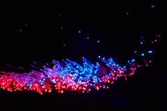 Aus optischen Fasern Stockbilder