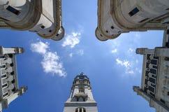 Aus Philadelphias Rathaus Stockbild