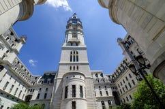 Aus Philadelphias Rathaus. Stockbilder