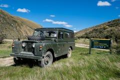 Aus--roading in Neuseeland Stockbild
