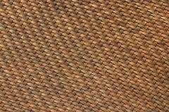 Aus Weiden geflochtene alte Bambusbeschaffenheit und Hintergrund wird als Material f benutzt Stockbilder