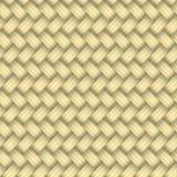 Aus Weiden geflochtenes nahtloses Muster Stockfotografie