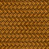 Aus Weiden geflochtenes nahtloses Muster Browns Lizenzfreie Stockbilder