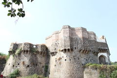 Ausa Fort. Land fort of Ausa in Latur district, Maharashtra stock photos