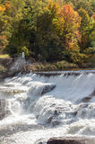 Ausable Chasm Waterfalls Royalty Free Stock Photography