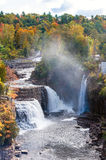 Ausable Chasm Waterfalls Royalty Free Stock Images