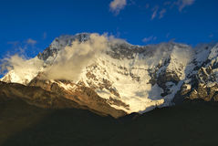 Ausangate, Περού στοκ εικόνες με δικαίωμα ελεύθερης χρήσης
