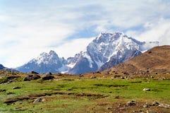 ausangate ταξίδι του Περού στοκ φωτογραφίες