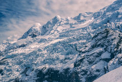 Ausangate, Andes. Dramatic peaks of south american Andes in Peru, Ausangate stock image
