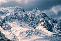 Ausangate, Andes. Picturesque view of high altitude south american Andes in Peru, Ausangate royalty free stock photo