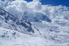 Ausangate, Andes. Scenic view of high altitude south american Andes in Peru, Ausangate royalty free stock photo