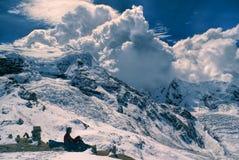 Ausangate, de Andes stock foto