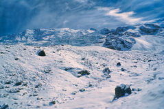 Ausangate, de Andes royalty-vrije stock foto's