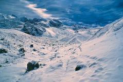 Ausangate, de Andes stock afbeeldingen
