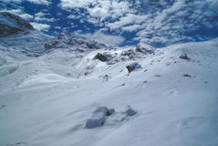 Ausangate, de Andes stock foto's