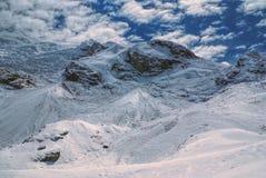 Ausangate, de Andes stock fotografie